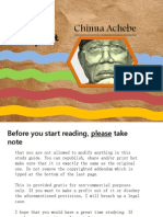 Chinua Achebe - Things Fall Apart *new* study guide copyrighted