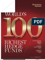Bloomberg 100 Richest Hedge Funds