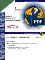 Module 5E - DIGSI4 - CFC Application Examples