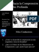 TEORIA Y FUNDAMENTOS  DE LA ENSEÑANZA PARA LA COMPRENSIÓN[1]