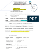 informe final modificación