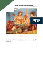 5. Jerez_La pintura romana.Los cuatro estilos pompeyanos