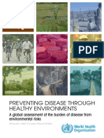(WHO, 2016) Preventing disease through healthy environments. a global assessment of the burden of disease from environmental risks