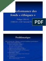 ppt la performances des fonds ethiques