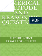 Numerical aptitude and reasonin - FUTURE POINT COACHING CENTRE