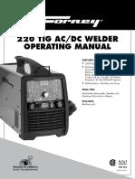 220 TIG AC/DC Welder