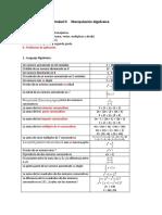 Ejercicios de Lenguaje Algebraico