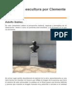 Análisis de escultura por Clemente Rojas