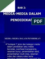 Bab 2 (Media-media Dlm Pend)