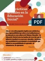 Las Prácticas Actuales en La Educación Inicial-Presentación Resumen