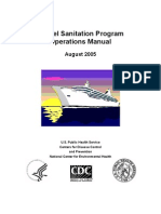 Vessel Sanitation Program OPE Manual