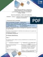Guía de actividades y rúbrica de evaluación_Unidad 3_Tarea 3_Informe nuevos enfoques en la gestión de compras e inventarios