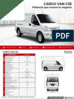 DFSK-Cargo-van-C35-ficha-tecnica