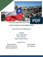 2. Sismo Chile 2010