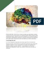 PSICOLOGÍA DEL COLOR 1