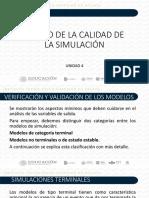 UNIDAD 4 DISEÑO DE LA CALIDAD DE LA SIMULACIÓN