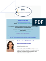 SFA Newsletter May 2020