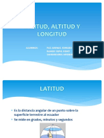 Latitud y Longitud - Clase 01 y 02
