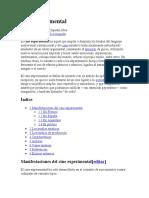 Cine experimental Fuentes Bibliograficas