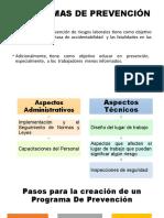 PROGRAMAS DE PREVENCIÓN Y EMERGENCIA EXPO