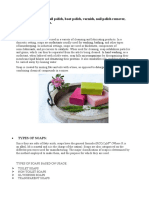 Project on Nail polish and its types and manufacture process