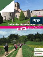 Guide des randonnées - Loire