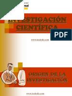INVESTIGACION CIENTIFICA PROCESO