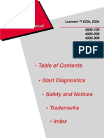 Lexmark 4505 e230 e232 e234 e23x e33x Service Manual