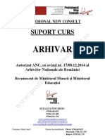 Suport curs Arhivar