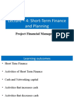 Lecture 4short term financial planing