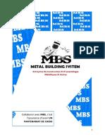 PLAQUETTE METAL BUILDING SYSTEME