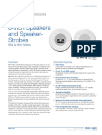 85001-0289 -- 8-inch Ceiling Speakers and Speaker-Strobes
