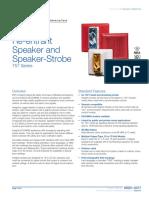 85001-0317 -- Integrity Re-entrant Speaker and Speaker-Strobe