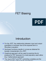 FET biasing