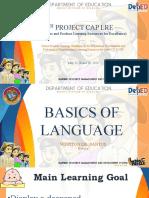 3 Basics of the Language 3.0