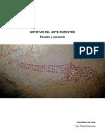 Artistas del arte rupestre. Pasado y presente.pdf