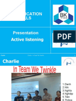 Charlie Consulting Team
