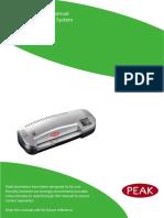Peak_Lite_PL220_Pouch_Laminator_User_Manual_Pre_April_2013