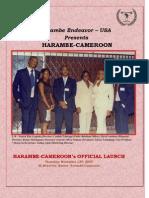 Harambe Cameroon - Inauguration Compendium