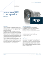 85001-0591 -- Multi-purpose Loudspeaker, 15 Watt
