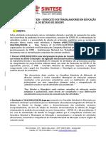 NOTA TÉCNICA DO SINTESE - 05.06.2020