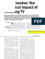 Biological Impact of TV