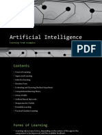 Artificial Intelligence chapter 18(Updated)