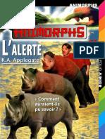 Applegate,K.A.-[Animorphs-16]L'Alerte(1998).French.ebook.AlexandriZ