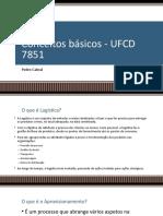 Conceitos básicos - UFCD 7851