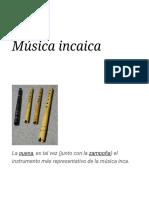 Música incaica