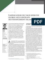 Banque & Droit -Juillet Aout 2009