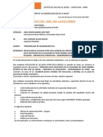 INFORME N°005 -  PRESENTACION DE PRIMERA VALORIZACION N°002.odt