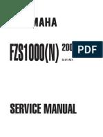 Yamaha FZS 1000 N 2001 Service Manual