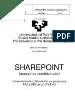 Administracion sharepoint